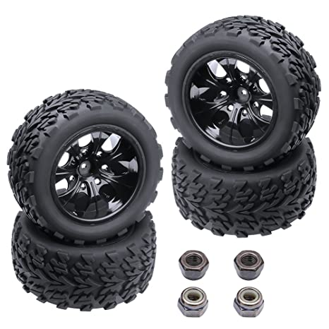 Off Road Rims And Tires Package >> Amazon Com 4 Pack Hobbypark 2 8 Off Road Tires Wheel Rims Set