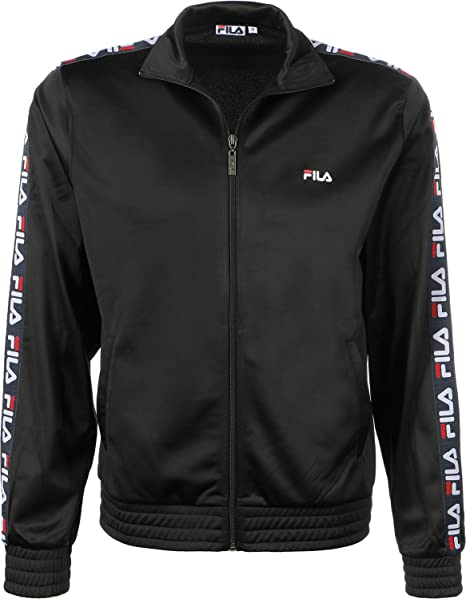 Fila Tape Track Jacket Black: Amazon.es: Ropa y accesorios