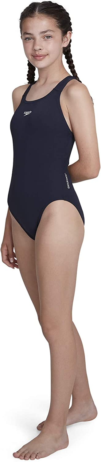 Speedo Girls Essential Endurance Plus Medalist Swimwear