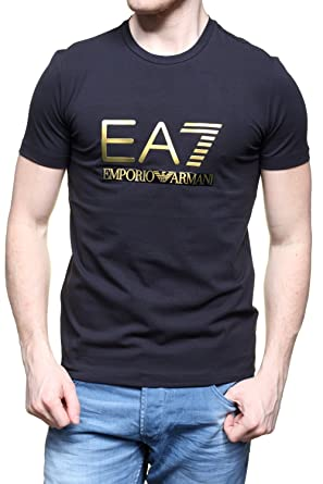 adad20916c3 BLACK   GOLD ARMANI EA7 MENS T SHIRTS (XXL)  Amazon.co.uk  Clothing