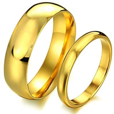 Amazon.com: AnaZoz joyas moda de la pareja Promesa Anillos ...