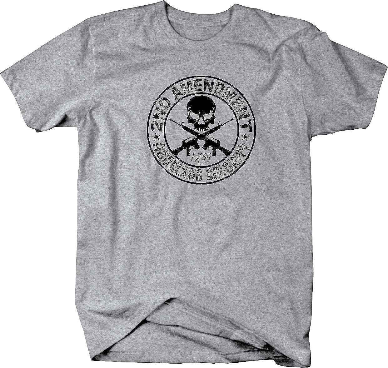 2nd Amendment America's Original Homeland Security Mens T Shirt