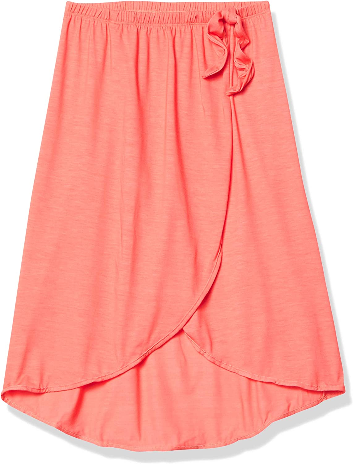 Heart And Harmony Girls Faux Wrap Sarong Swimsuit Cover Up