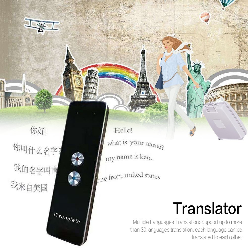 Lothver Portable Smart Voice Translator Two-Way Real Time Multi-Language Translation For Learning Travelling Business Meeting