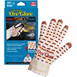 'Ove' Glove, Anti-Steam, Hot Surface Handler Oven Mitt/Grilling Glove, Left Hand, Perfect For Kitchen/Grilling, 540 Degree Resistance, As Seen On TV Household Gift, Made in USA