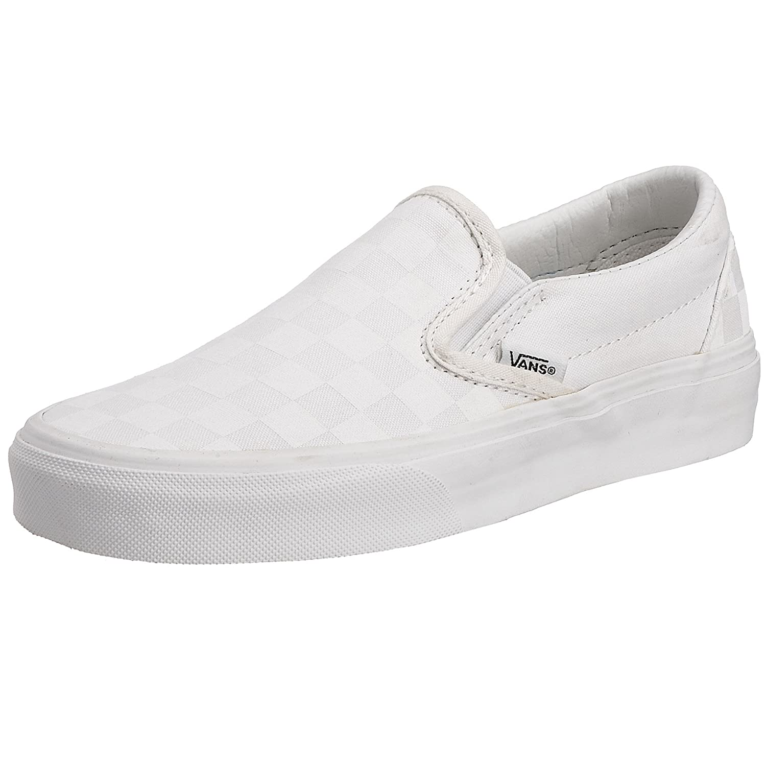 Vans Slip-on(Tm) Core Classics (Checkerboard) Truewhite/T