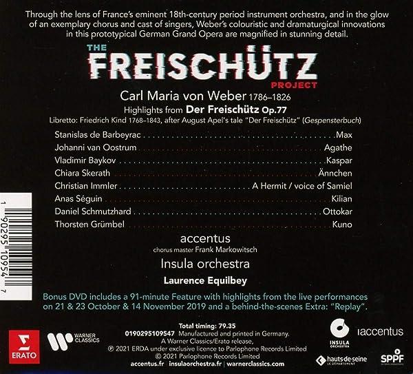 TCE - Weber - Der Freischütz - Equilbey - Oct.2019 71-g6BUVMdL._SL600_