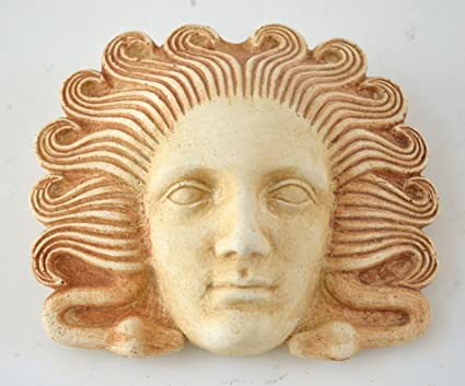 Medusa Miniature Mask - Ancient Greek Theatre - Gorgon Medousa