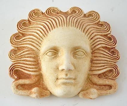 Medusa Miniature Mask - Ancient Greek Theatre - Gorgon Medousa