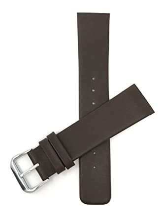 930ff078b87 22mm Brown Genuine Leather Skagen Watch Replacement Watch Band Strap ...