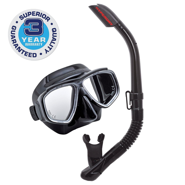 TUSA Sport Adult Splendive Mask and Snorkel Combo