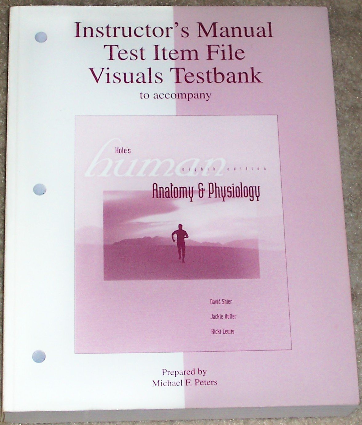 Instructor\'s manual, test item file, visuals testbank to accompany ...