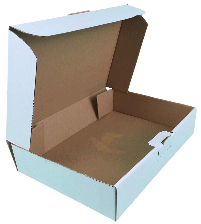 600 Cartons MB2 Blanco 180 x130 x 50 mm mm mm Boîte DHL Post Ware envoi dimapax 95c9d2