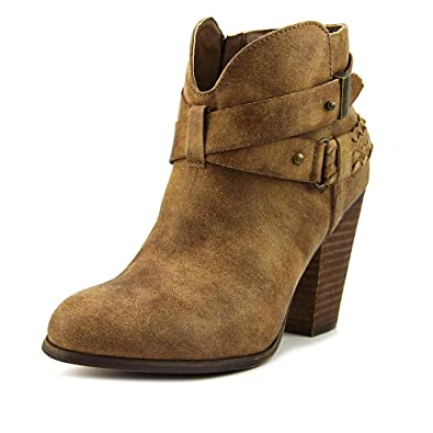 4e70c26262c7 XOXO Womens Kasper Ankle Boots Taupe 6.5 M US