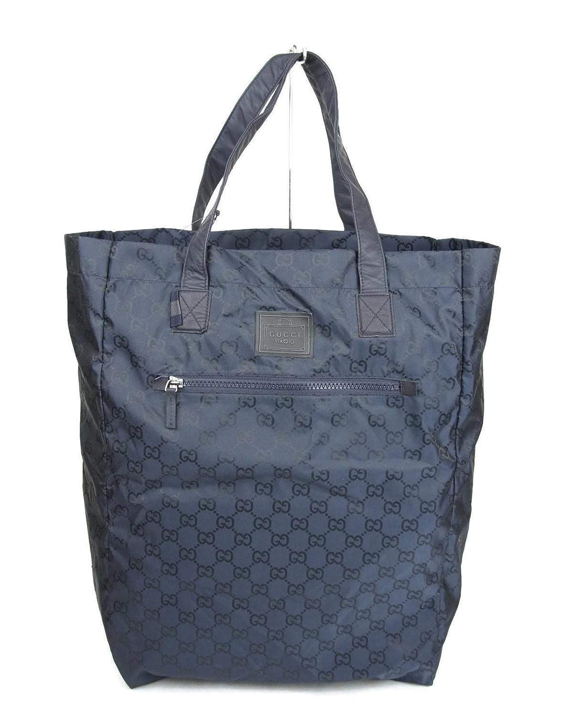 49f1a30322 Amazon.com: Gucci Guccissima Blue Nylon Handbag Viaggio Collection ...