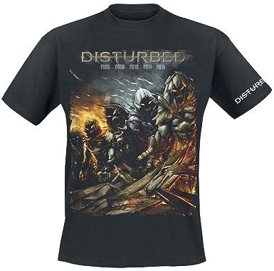 Disturbed Evolution The Guy T Shirt Schwarz Amazon De Bekleidung