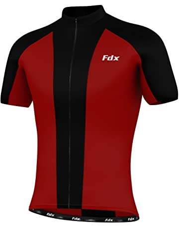Activewear Provided More Mile Mens Cycle Jersey Short Sleeve Half Zip Breathable Summer Cycling Top