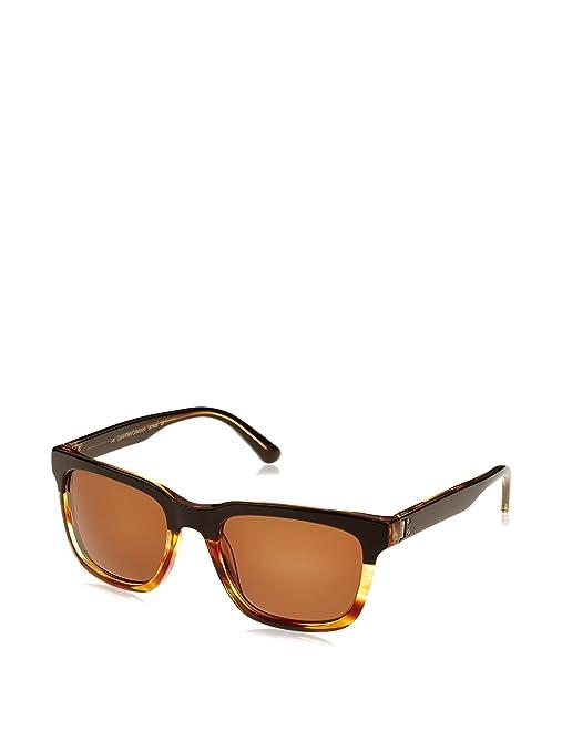 Calvin Klein Unisex Sonnenbrille CK7960S, Braun (Brown Striped), onesize