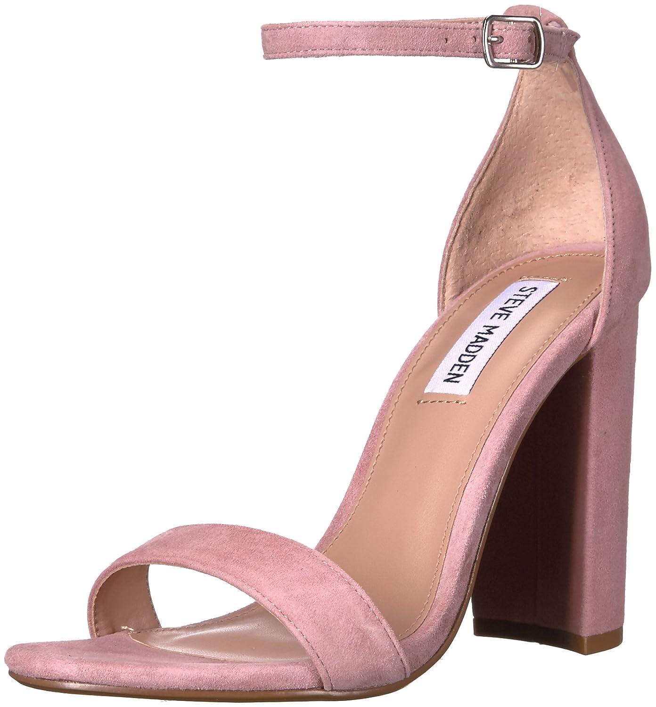 Steve Madden Women's Carrson Dress Sandal B005BAW2OG 10.5 B(M) US Mauve Suede