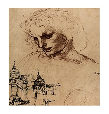 Amazon.com: Style in Print Jacobus Maior (Da Vinci) Wood Print Wall ...