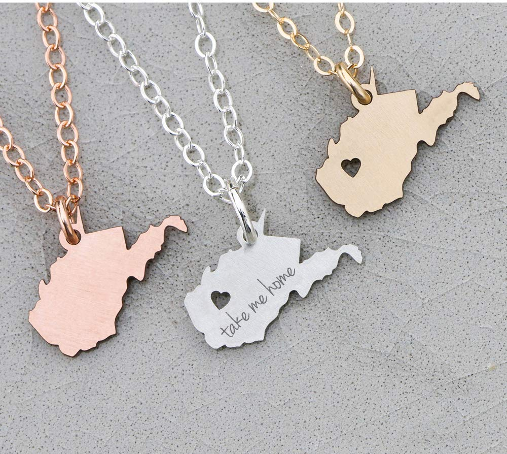 Choice of State Sterling Silver State Charm