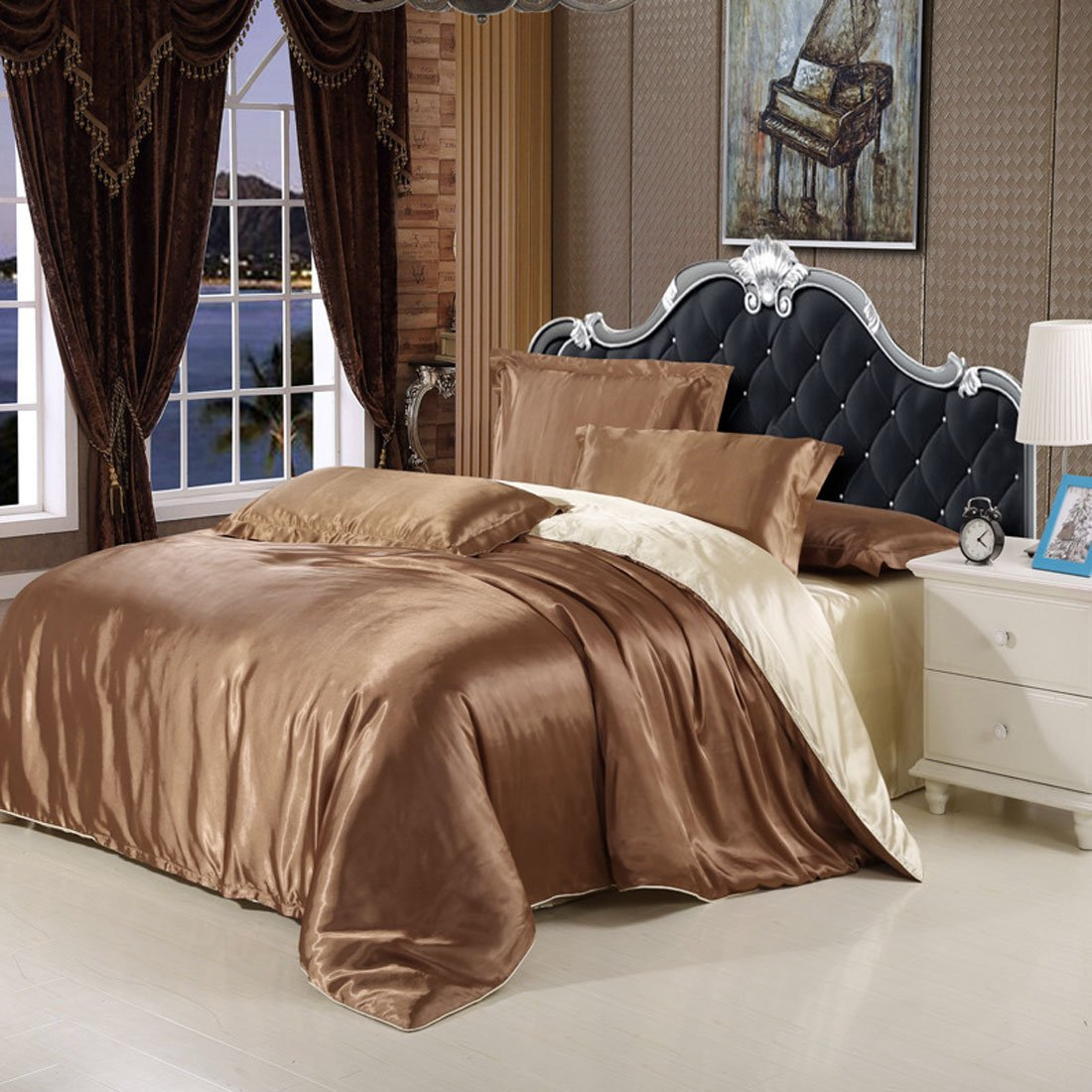 Silk Bedding Sheets Discounted Season Sale Ease Bedding
