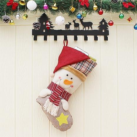 Articoli Di Natale.Addobbi Per L Albero Di Natale Calzini Di Babbo Natale