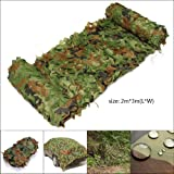 6.5ft x 10ft Woodenland Camouflage Net Camo Netting for Camping Hide