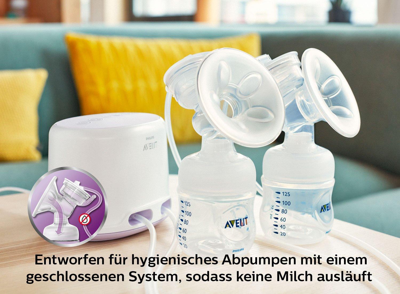 Philips AVENT - Extractor de leche (125 ml, 2 pieza(s ...