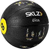 SKLZ Trainer Med Ball - Self Coaching Medicine Ball with Printed Exercise Instructions (8 pounds)