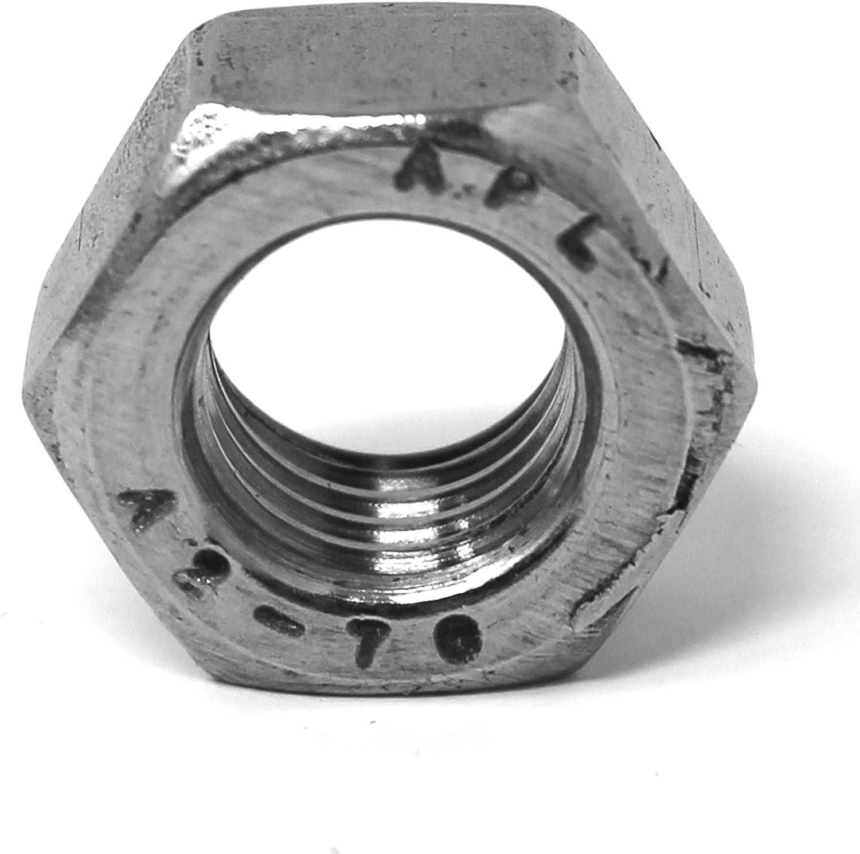 M8 Schraubenmutter Edelstahlmutter Sechskantmutter DIN 934//ISO 4032 Sechskant-Mutter M8, 10 St/ück V2A Mutter Edelstahl A2 V2A 10 St/ück Standard