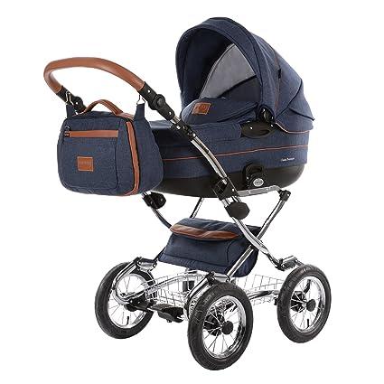 Knorr-Baby Classic Premium Carrito tradicional 1 Asiento(s) Azul - Cochecito (