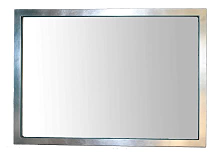 Specchio da Parete Grande Moderno con Cornice in Legno Foglia ...