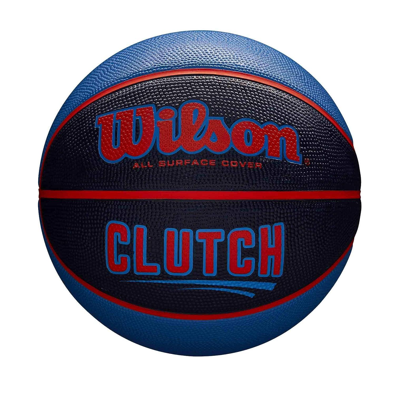 Wilson WTB14196XB07 Pelota de Baloncesto Clutch Caucho Interior y ...