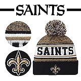 New Orleans Saints Fans Hats Winter Knit Cuffed