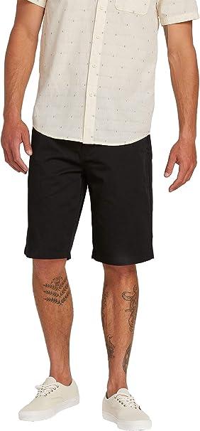 Dark Khaki Volcom Frickin Chino Shorts New
