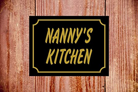 Nannys Kitchen 9348 - Cartel resistente a la intemperie ...
