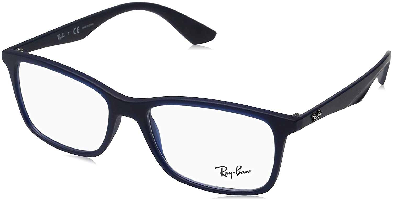 Ray-Ban Herren rx7047 Brille in mattem transparent RX7047 5450 ...