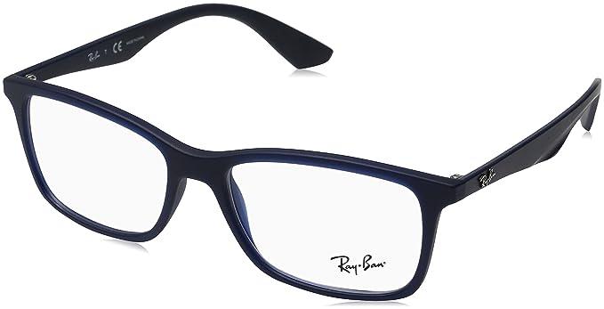 Rabatt zum Verkauf Sortenstile von 2019 ausgewähltes Material Ray-Ban Herren rx7047 Brille in mattem transparent RX7047 5450