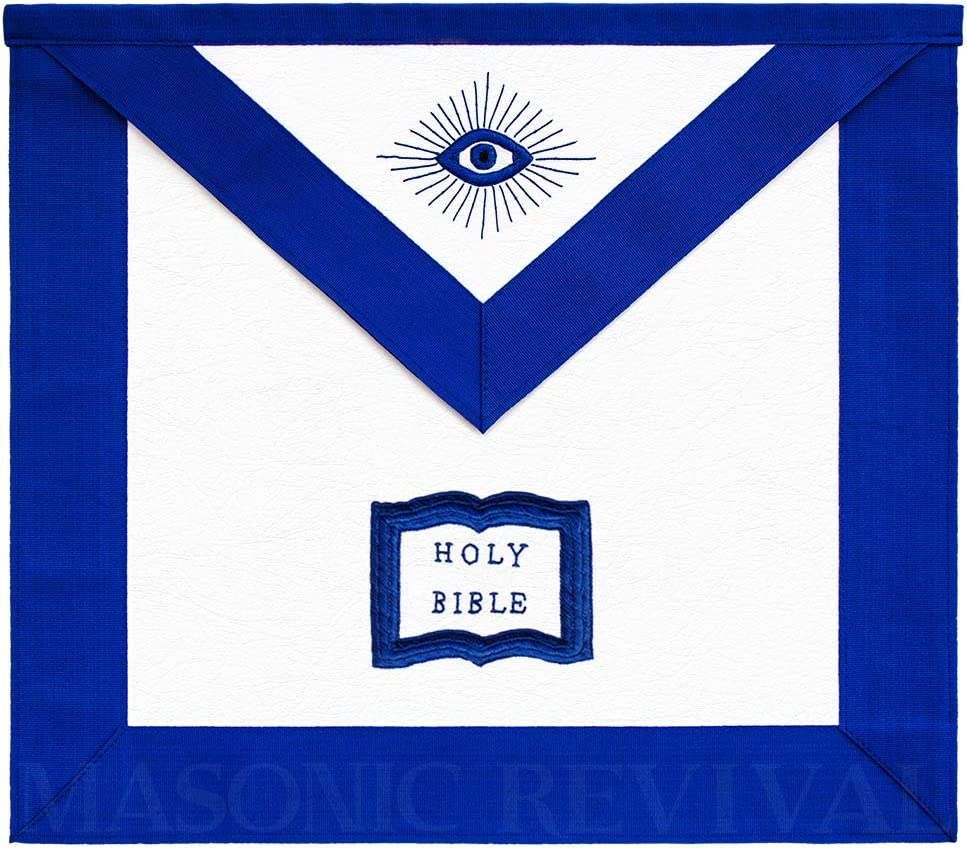 Masonic Max 78% OFF Revival Chaplain Officer Apron Quantity limited