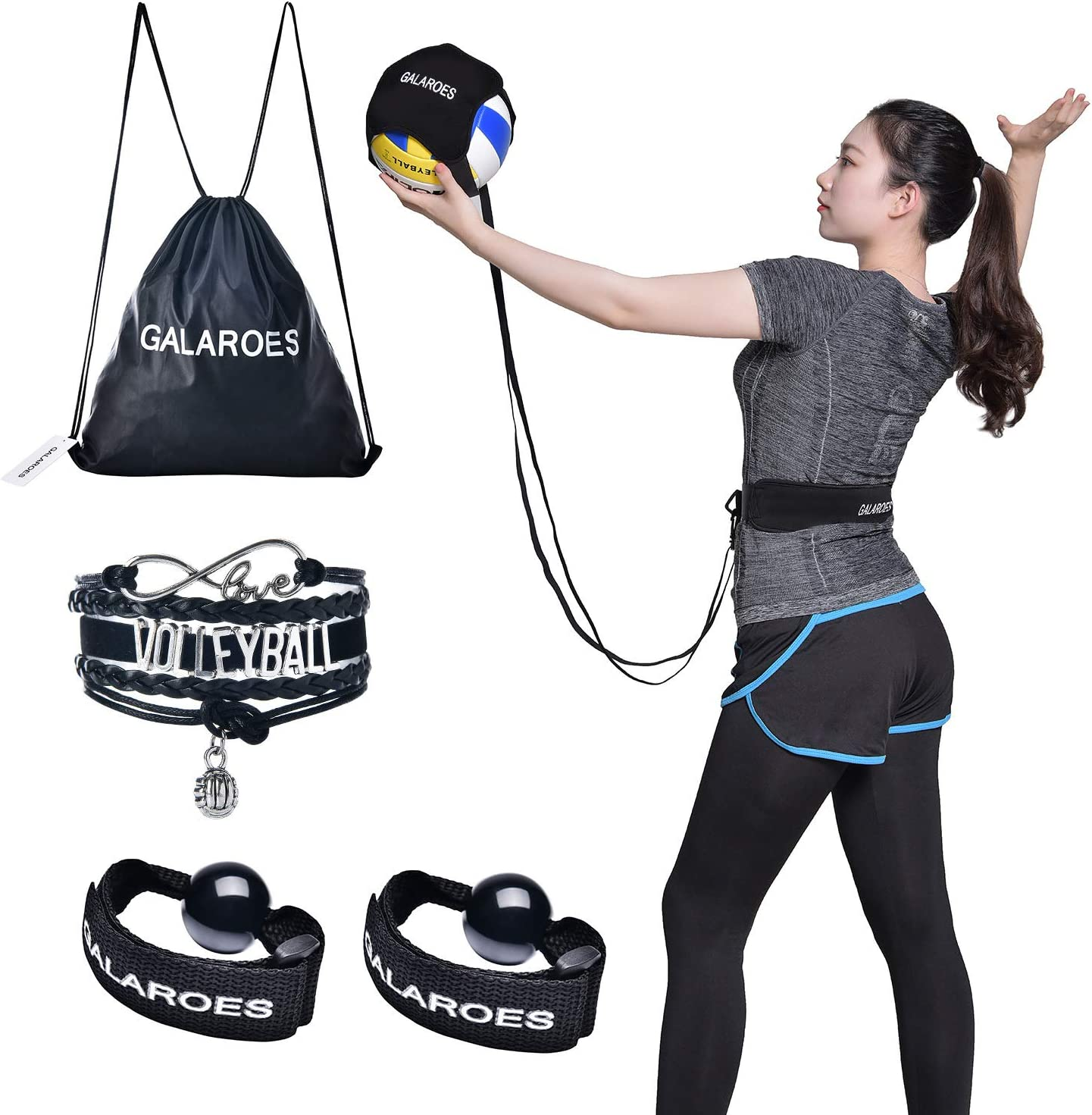 Volleyball Training Equipment Serve and football Practice Serving Aid Solo