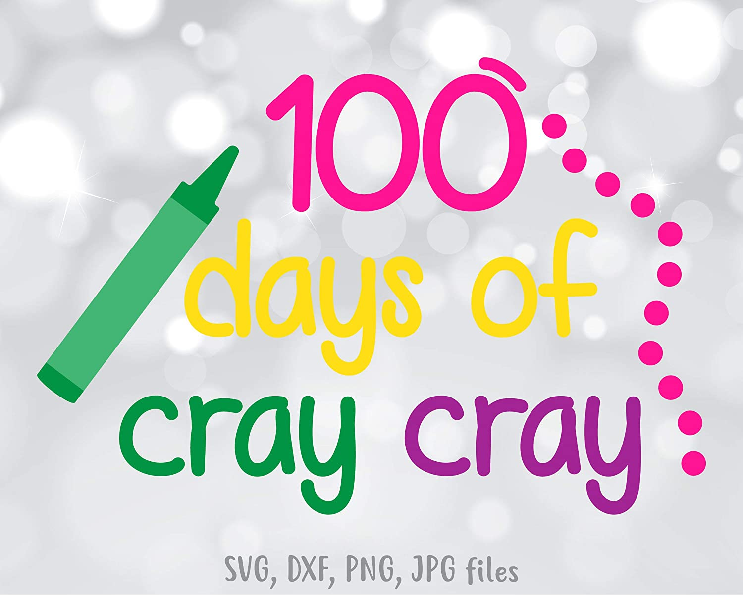 Stanley 100 Days Of Cray Cray Vinly Decal Cray Cray Vinly Decal 100 Days Vinly Decal 100 Days Crayon Design Vinly Decal Decal Sticker Amazon Ca Tools Home Improvement