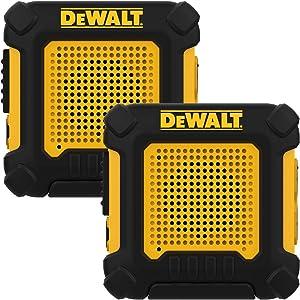 DEWALT DXFRS220 Wearable Walkie Talkies Heavy Duty Business Two-Way Radios, Hands Free, 1W of Power, Ultra Long Range Distance (Pair)