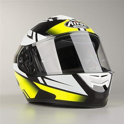 Amazon.es: Airoh - Casco moto Airoh St 701 Spark Yellow Gloss ...