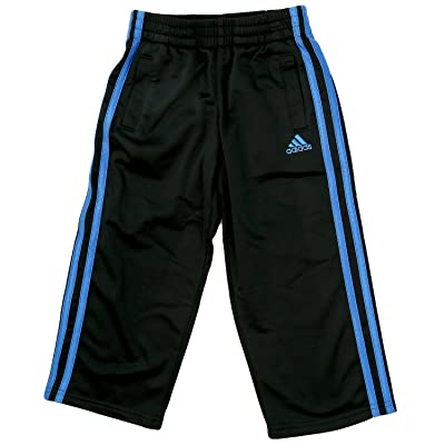 Adidas Impact Tricot Track Pants - Black/Blue - Boys - 5
