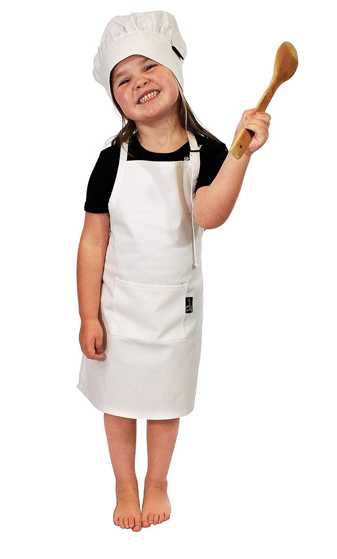 Kids Children Chef Cooking Apron Baking Kitchen DIY Craft Painting Bib