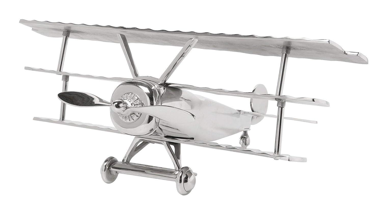 Kare 69254 Deko Flugzeug Triplane 0.21 x x x 0.47 x 0.52 m Stahl, Messing 659f87