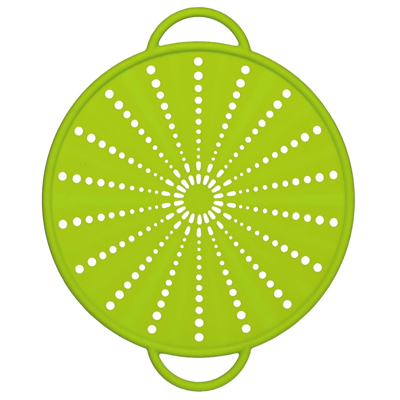 Emsa 514557 Smart Kitchen silicone splash & splatter guard Ø 26 cm, green