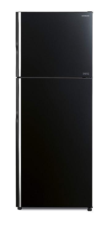 Hitachi 451 L  2019  Frost Free Double Door Refrigerator R VG470PND8    GBK , Black, Inverter Compressor  Refrigerators
