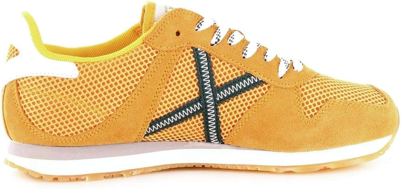 MUNICH Luxury Fashion Mens Sneakers Summer Yellow